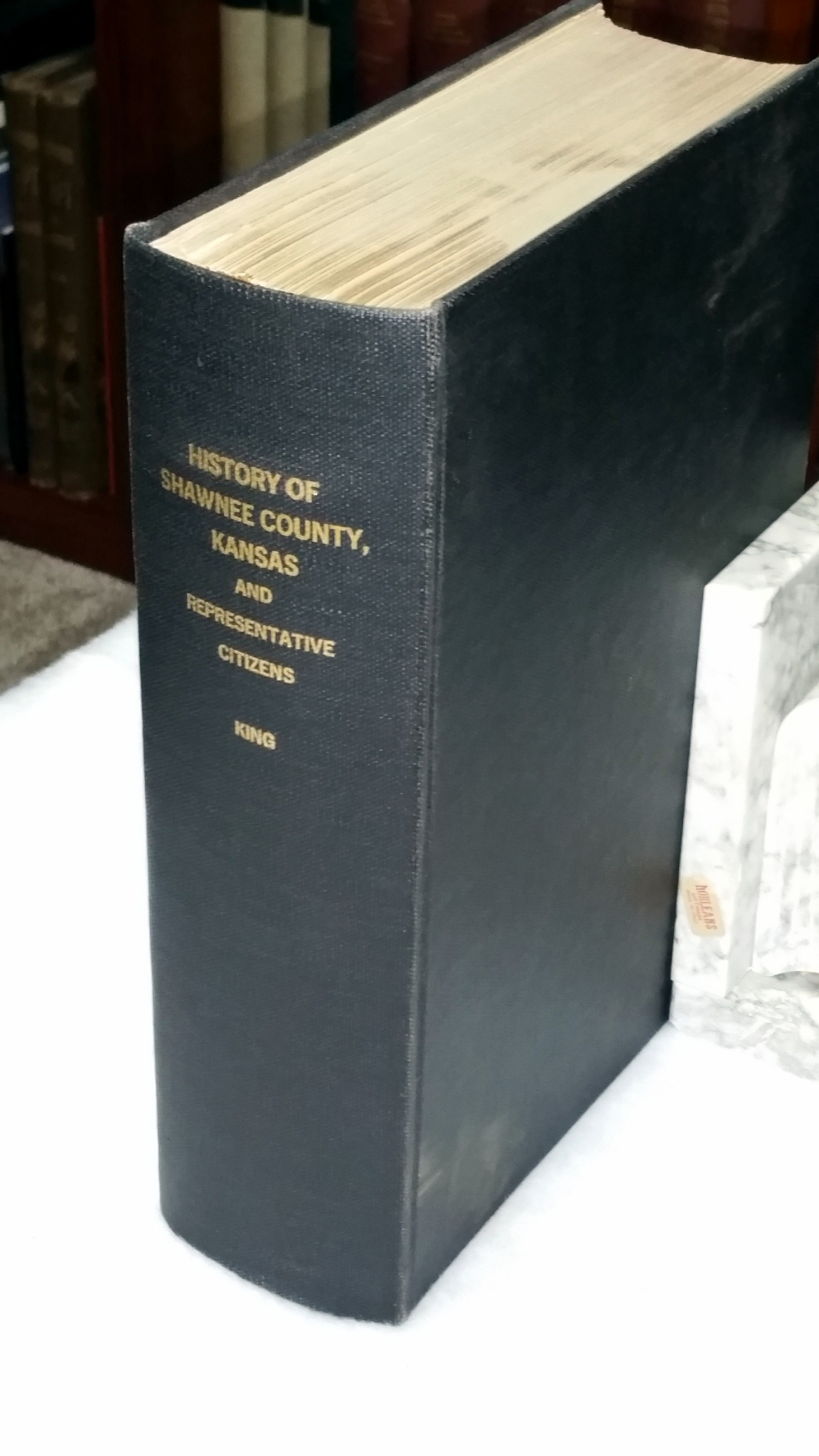 History of Shawnee County, Kansas and Representative Citizens