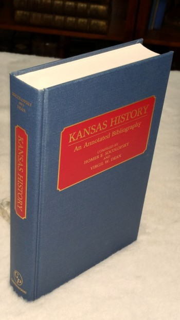Image for Kansas History: An Annotated Bibliography