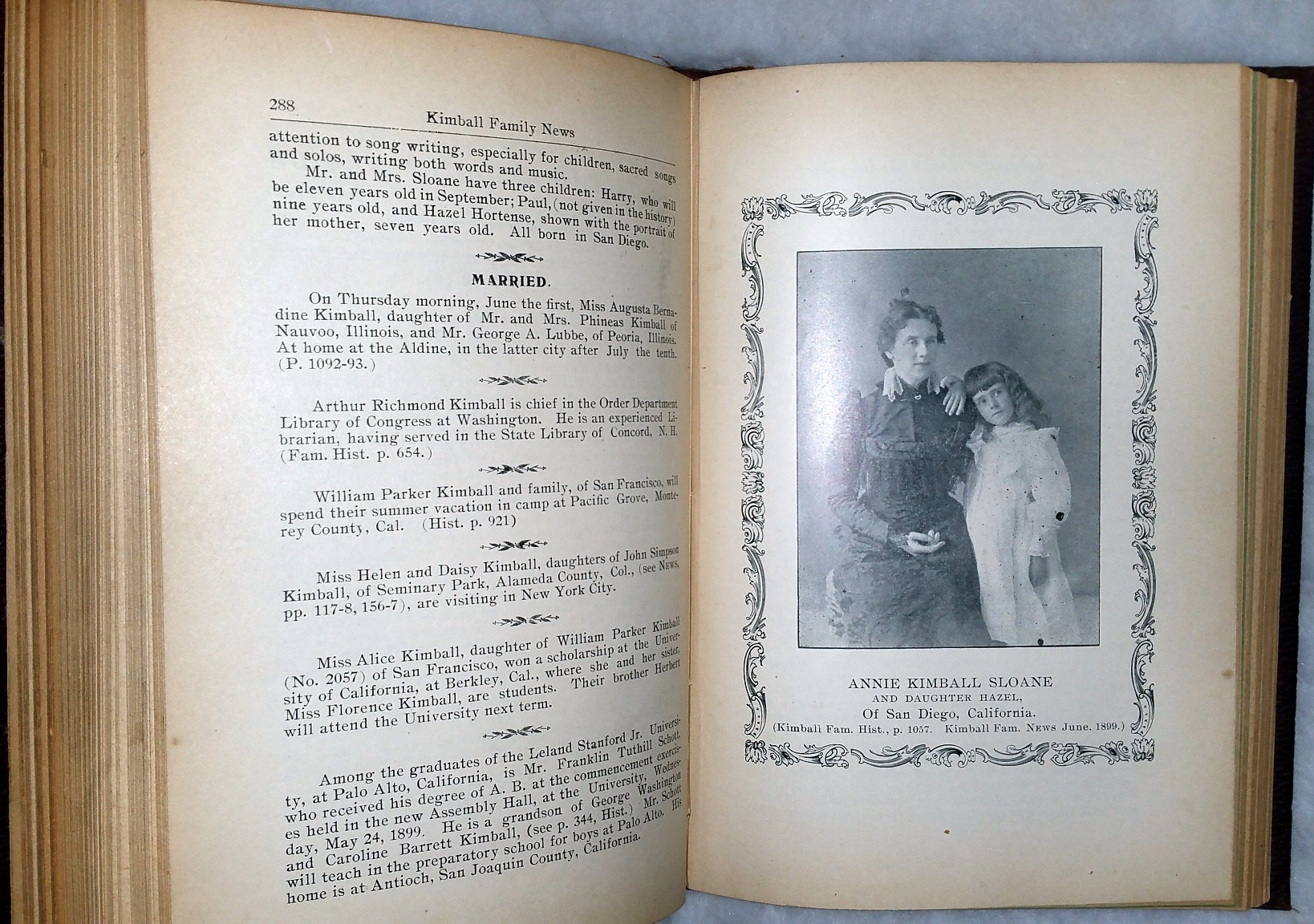 Image for The Kimball Family News, Being Supplementary to the History of the Kimball Family in America. Consisting of the Regular Monthly Parts for the Years 1898 and 1899