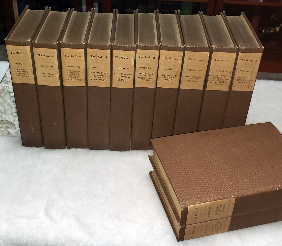 Image for Robert Browning's Complete Works (12 Volumes)
