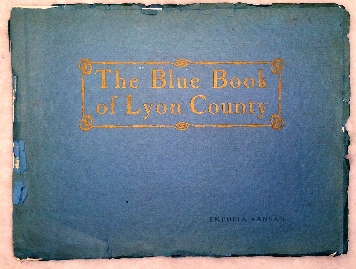 Image for The Blue Book of Lyon County