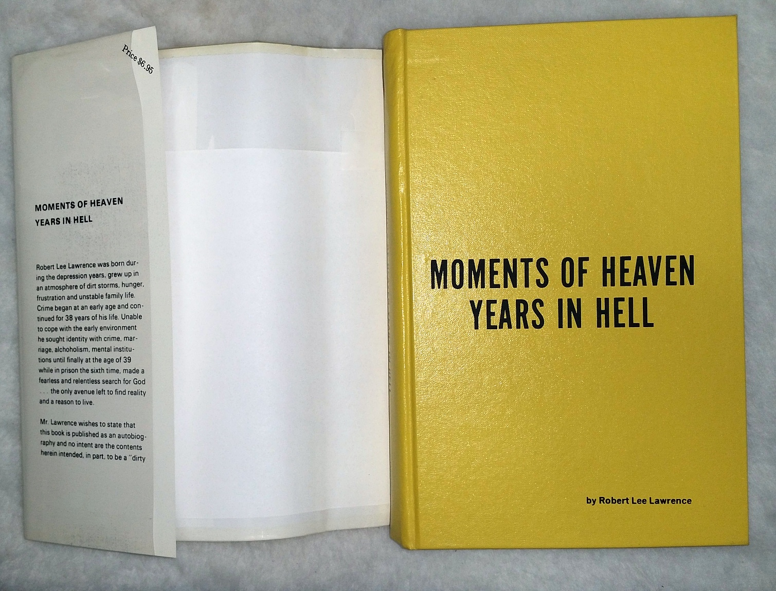 Image for Moments of Heaven; Years in Hell