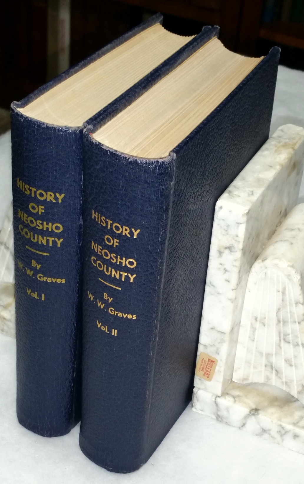 Image for History of Neosho County (Two Volumes)