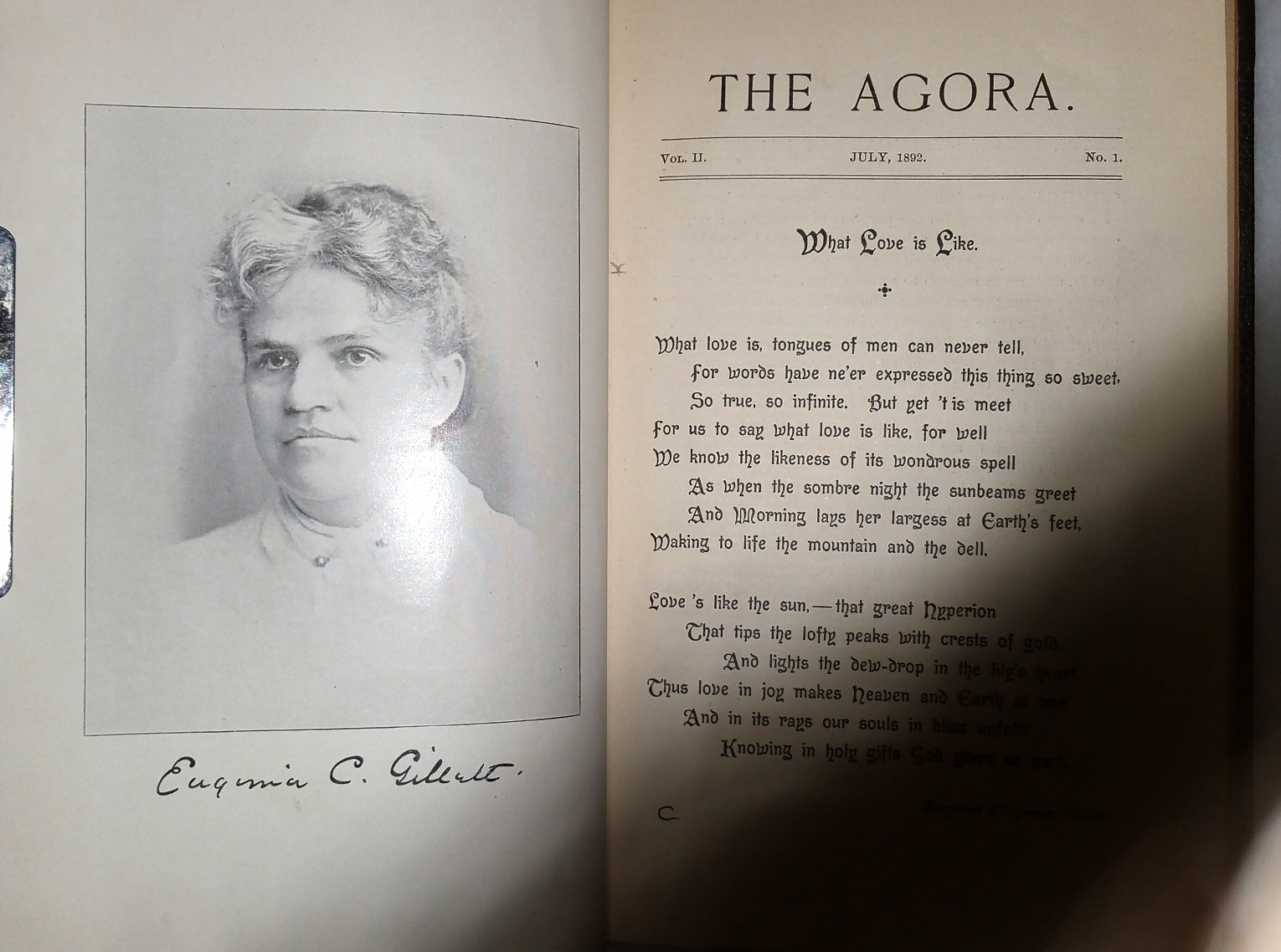 Image for The Agora:  A Quarterly (A Kansas Magazine, Vol II)