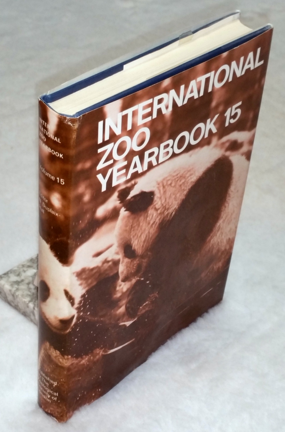 Image for 1975 International Zoo Yearbook, Volume 15