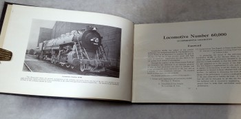 Image for Locomotive Number 60,000:  An Experimental Locomotive