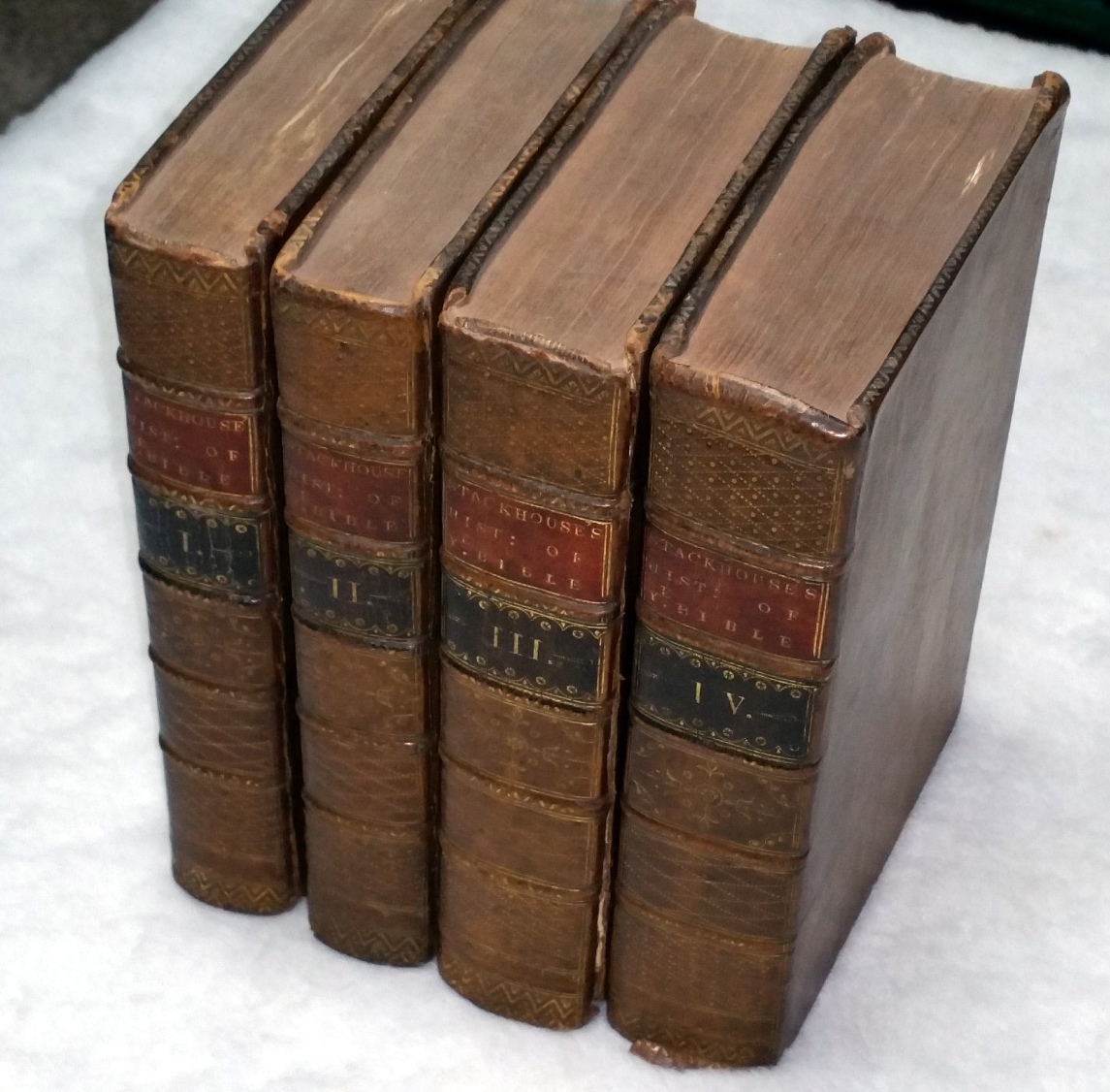 Image for A New History of the Holy Bible from the Beginning of the World to the Establishment of Christianity... (Four Volumes)