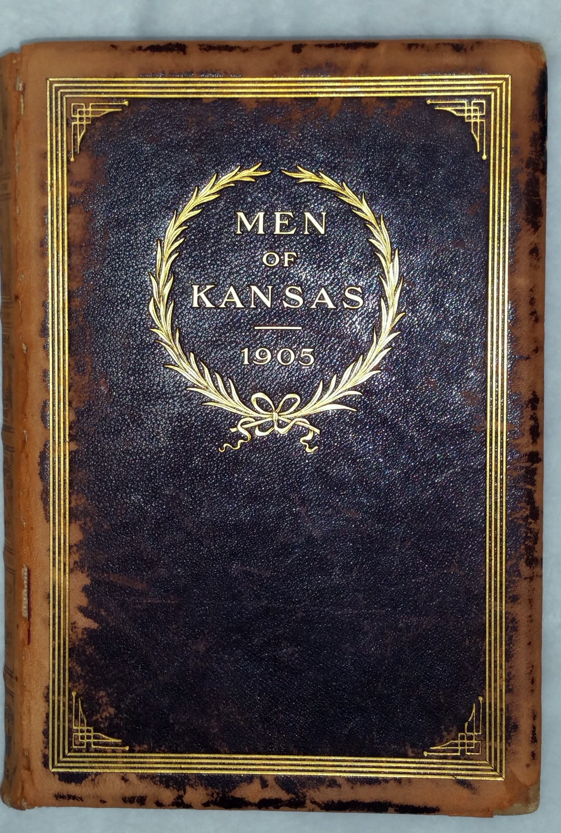 Image for Men of Kansas:  A Collection of Portraits of Representative Men in Business, Professional and Official Life in the Great State of Kansas