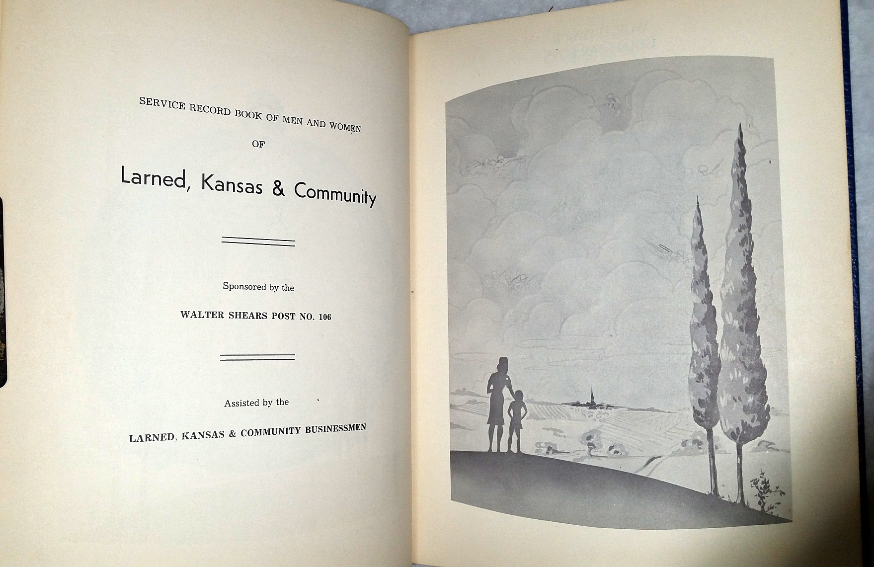 Image for Service Record Book of Men and Women of Larned, Kansas & Community