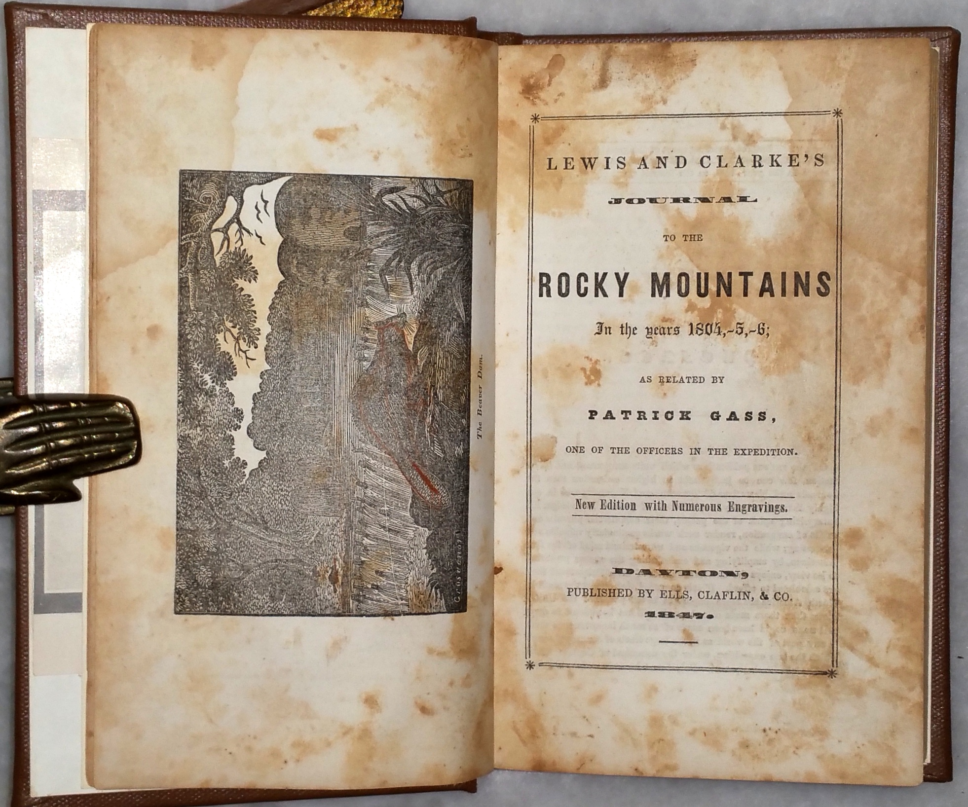 Image for Lewis and Clarke's Journal to the Rocky Mountains in the Years 1804,-5,-6