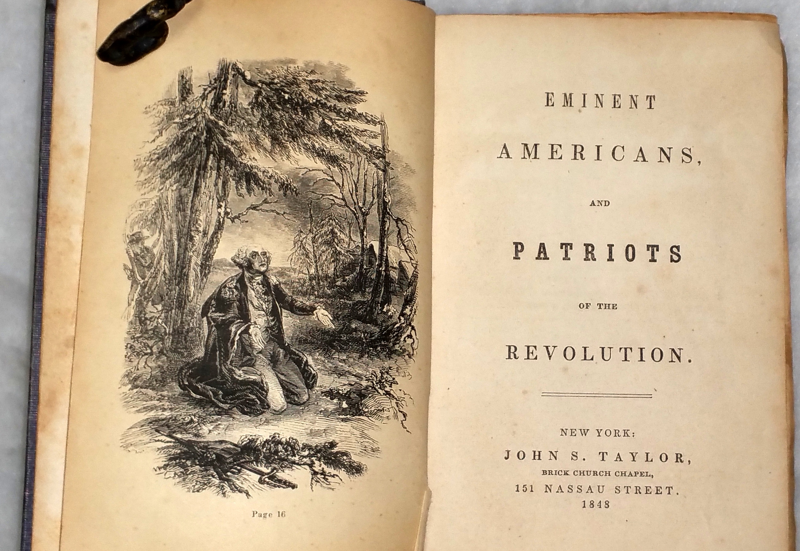 Image for Eminent Americans and Patriots of the Revolution