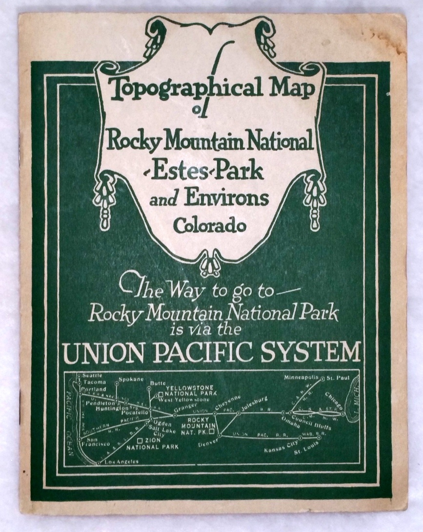 Image for [Map] Topographical Map of Rocky Mountain National-Estes-Park and Environs, Colorado