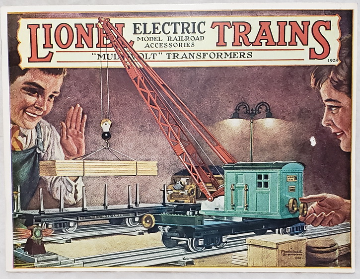 Image for Lionel Trains, Electric Model Railroad Accessories, 1928