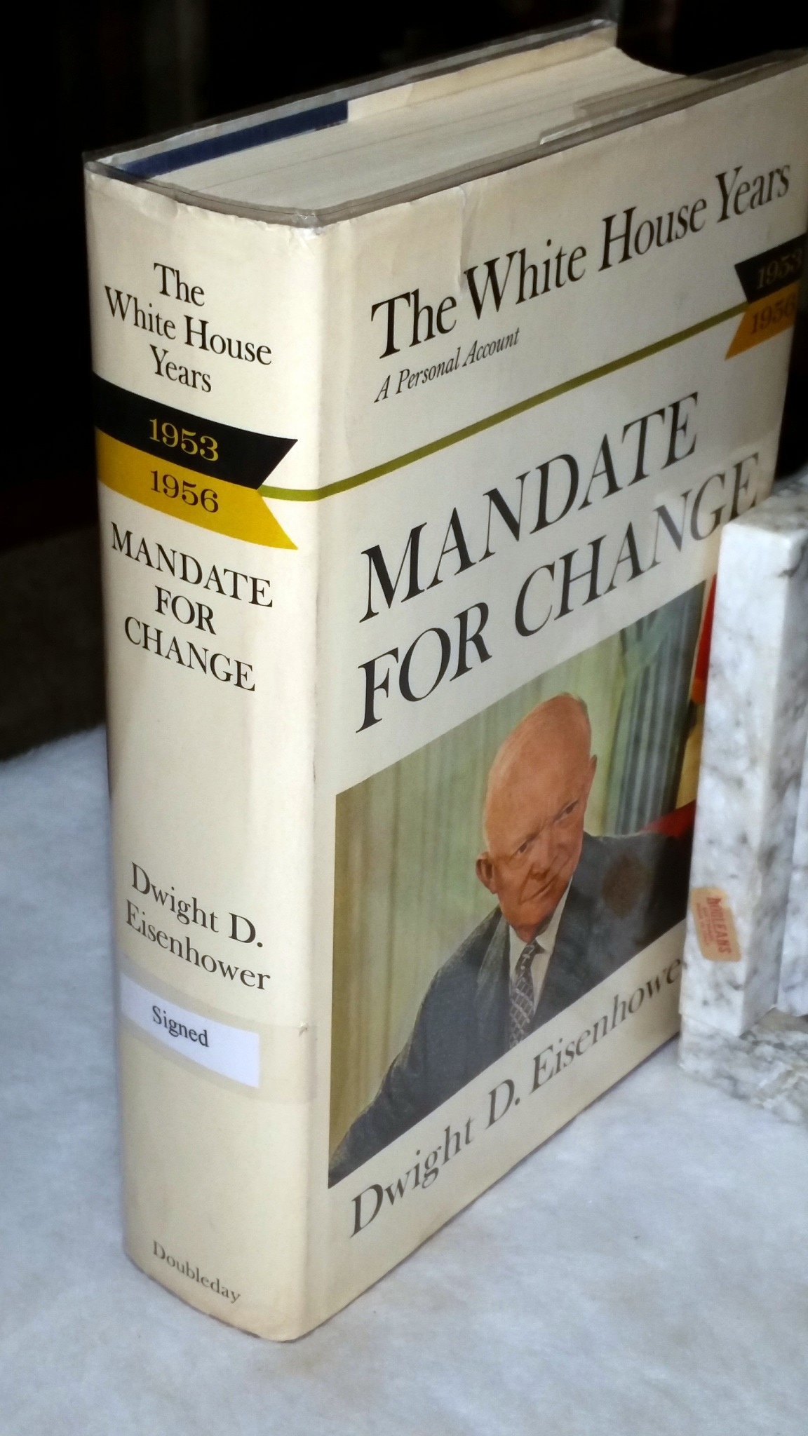 Image for The White House Years:  Mandate for Change, 1953-1956