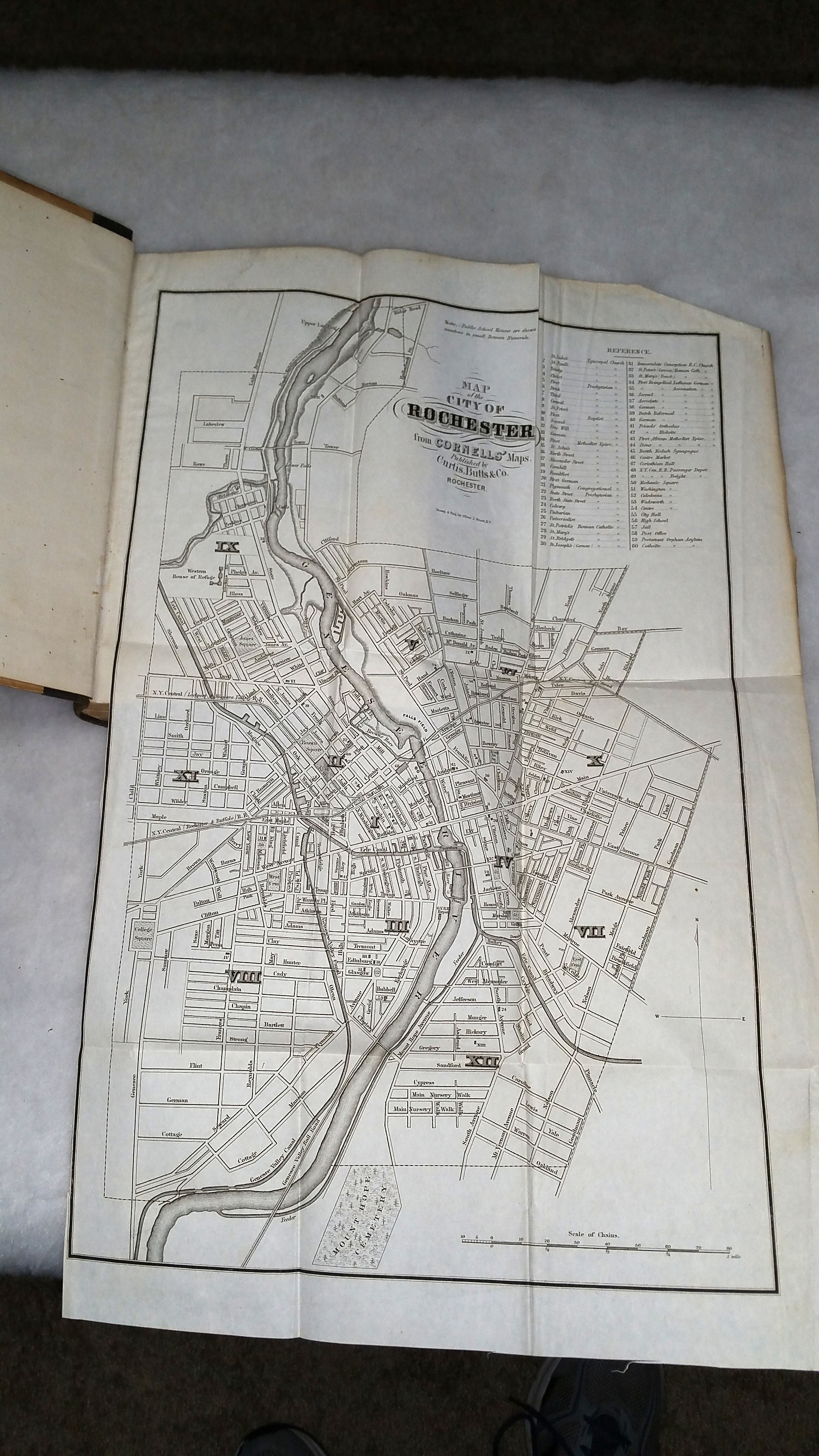 Image for Rochester Daily Union City Directory for 1861...  Together with the Advertisements of Many of the Principal Business Houses, An Alphabetical List of Streets, and a New and Complete Map of the City