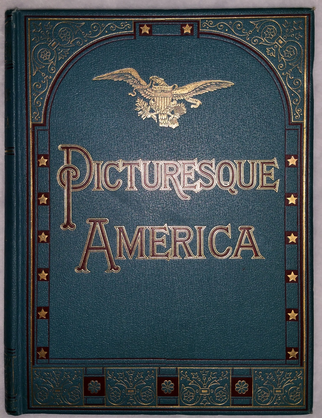 Image for Picturesque America:  A Delineation By Pen and Pencil of the Mountains, Rivers, Lakes Forest, Waterfalls, Shores, Canons, Valleys, Cities, and Other Picturesque Features of the United States (Four Volumes)