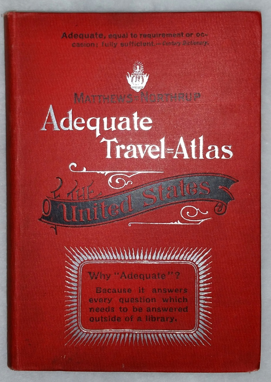 Image for The Matthews-Northrup Adequate Travel-Atlas of the United States