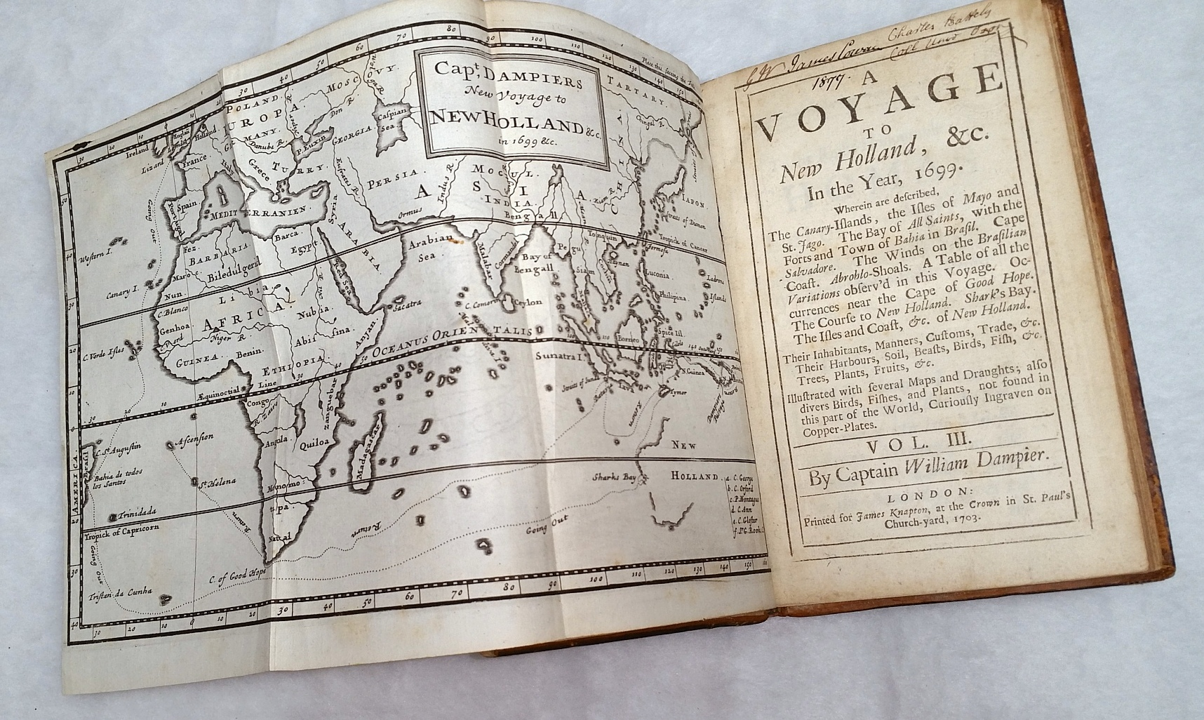 Image for A Voyage to New Holland, &c. In the Year, 1699.