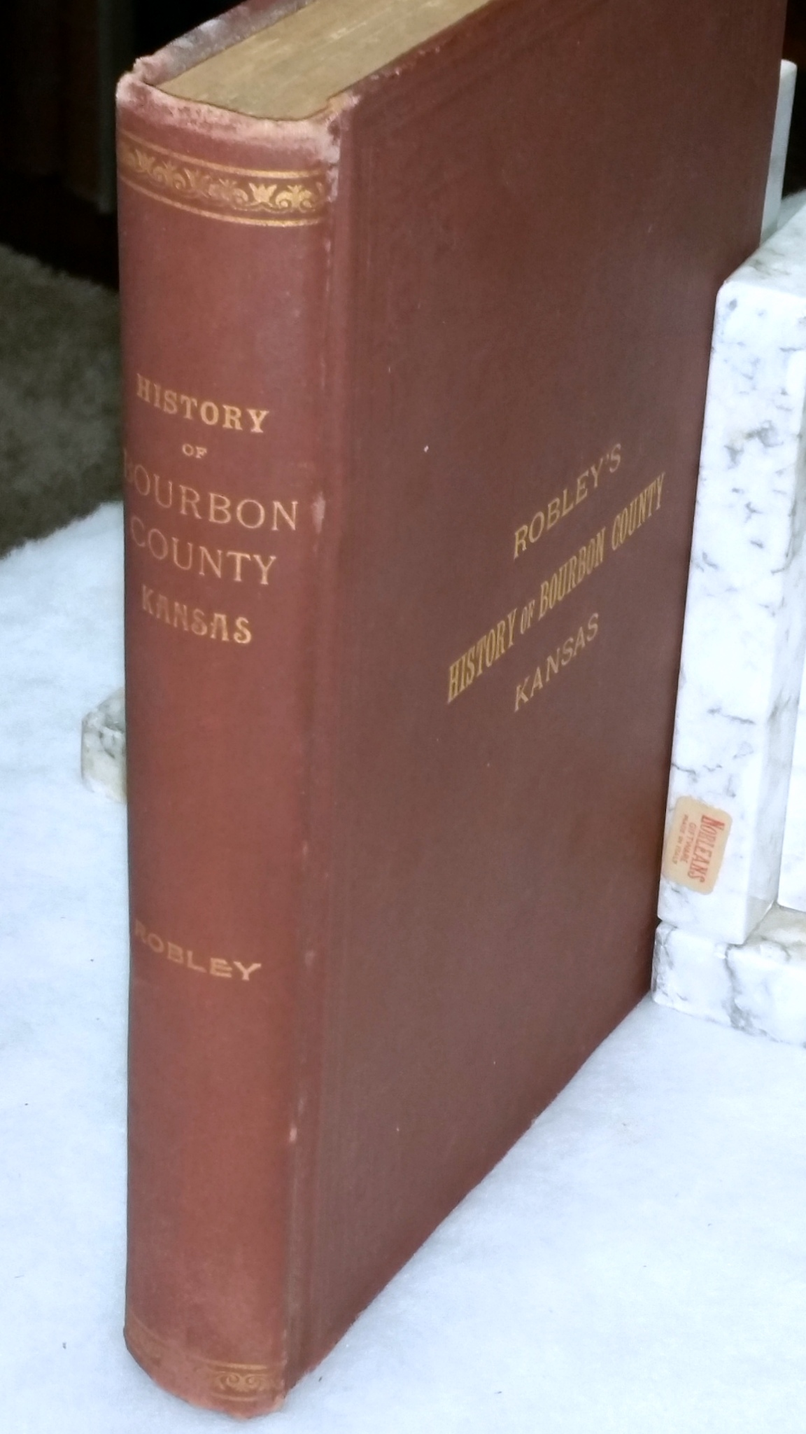 Image for History of Bourbon County, Kansas to the Close of 1865