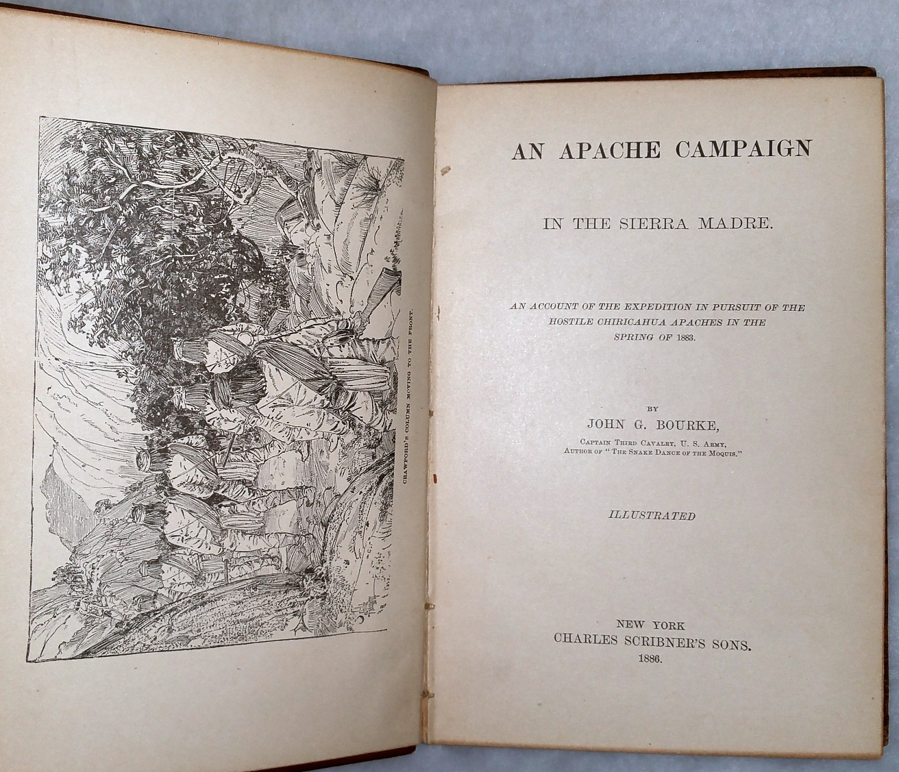 Image for An Apache Campaign in the Sierra Madre:  An Account of the Expedition in Pursuit of the Hostile Chiricahua Apaches in the Spring of 1883