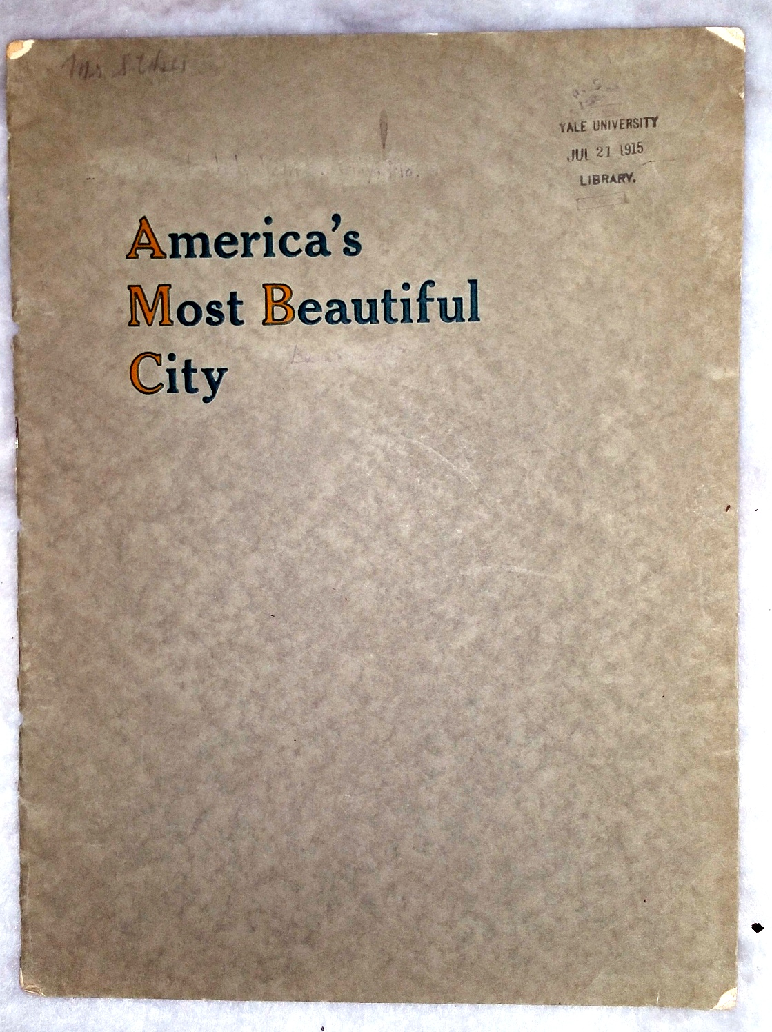 Image for America's Most Beautiful City [Kansas City]