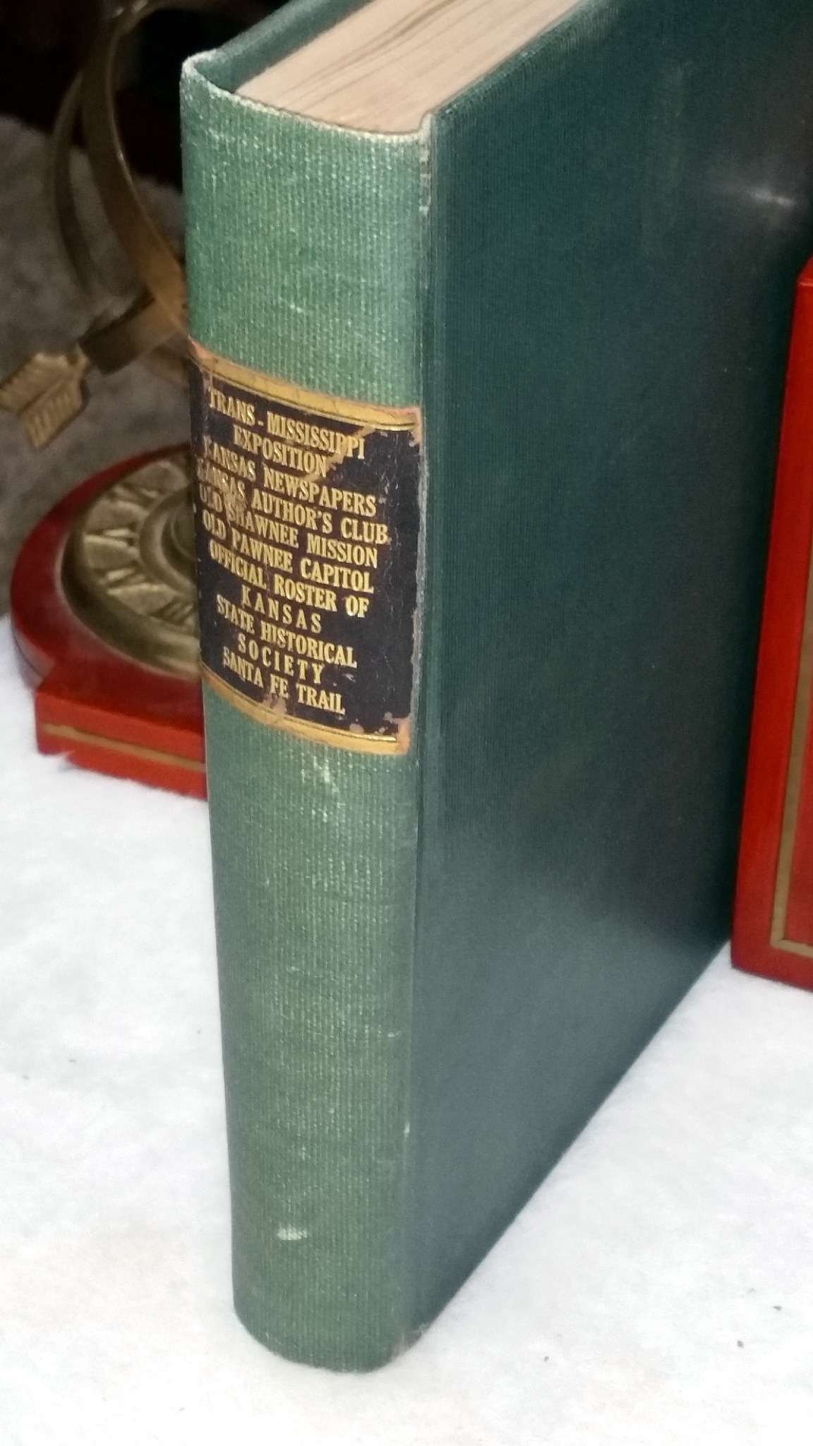 Image for [Kansas] Bound Volume of Seven Smaller Booklets and Reprints