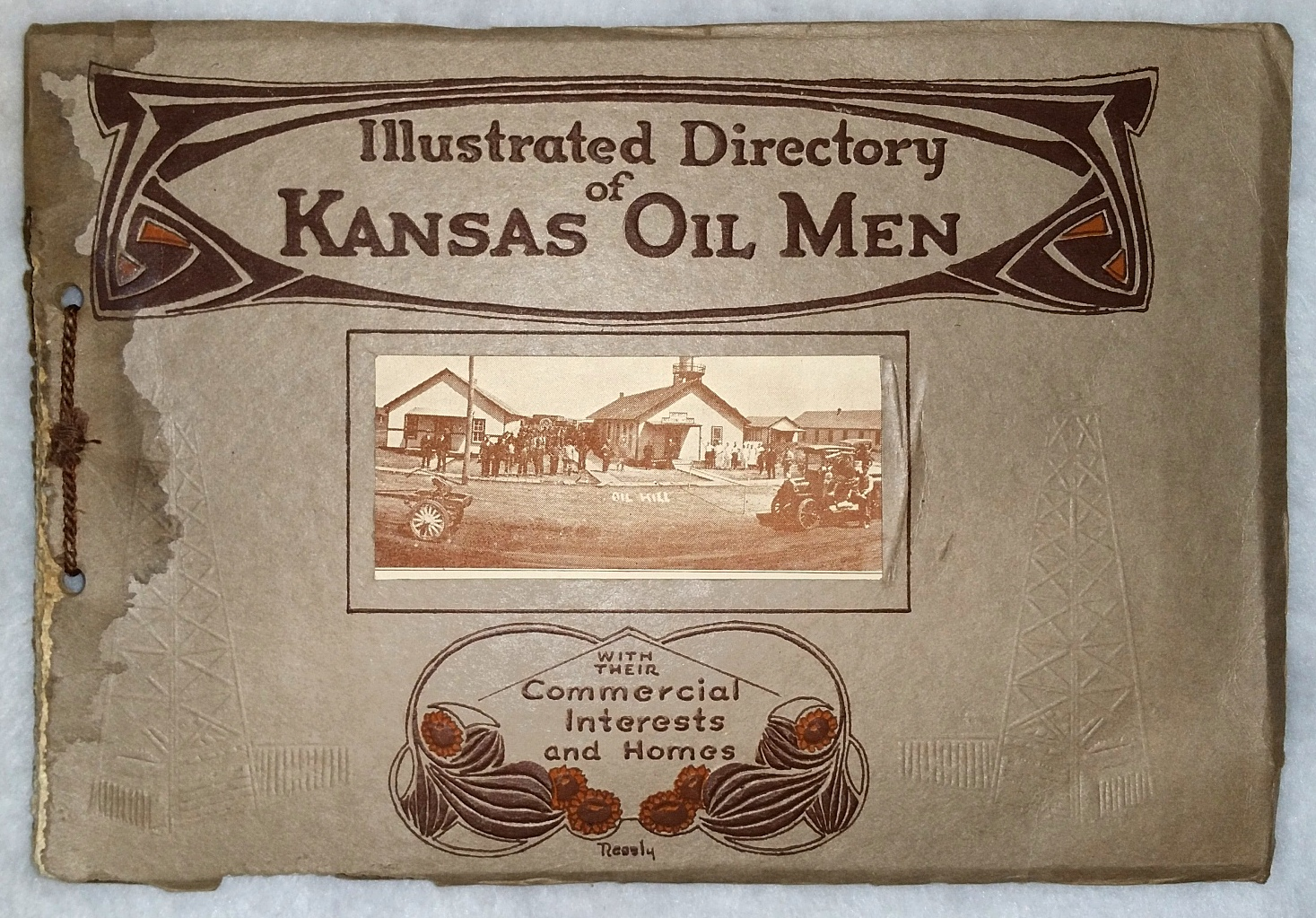 Image for Illustrated Directory Of Kansas Oil Men