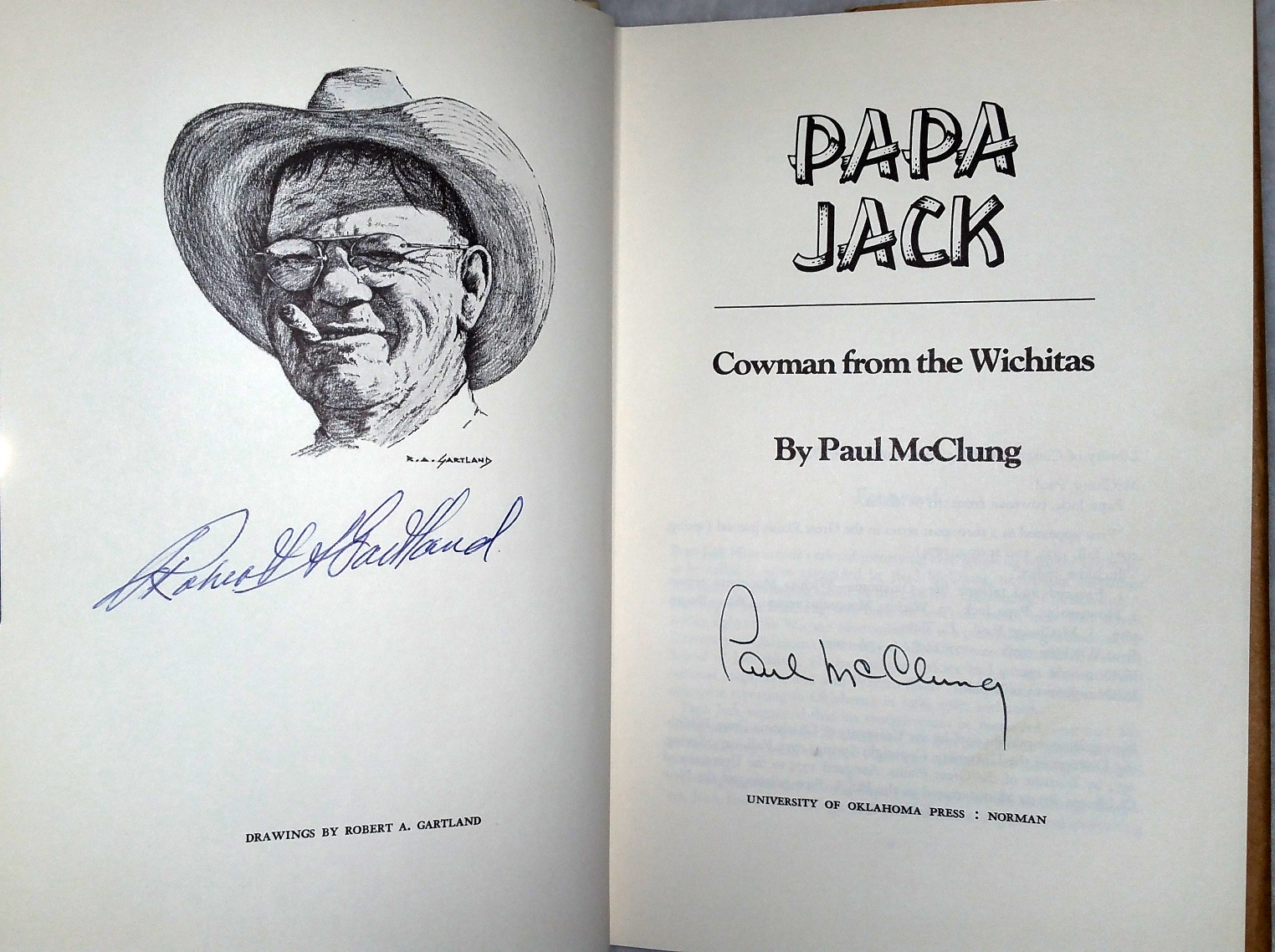 Image for Papa Jack:  Cowman from the Wichitas