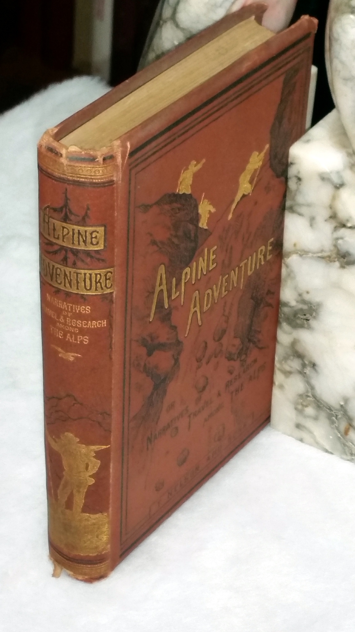 Image for Alpine Adventure; or, Narratives of Travel and Research in the Alps