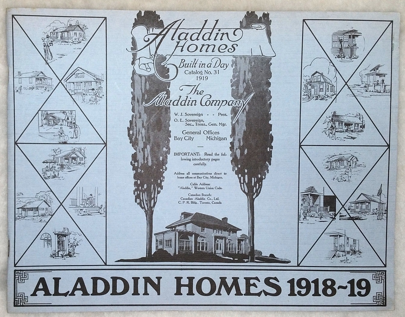 Image for Aladdin Homes 1918-19:  Aladdin Homes, Built in a Day, Catalog No. 31 1919