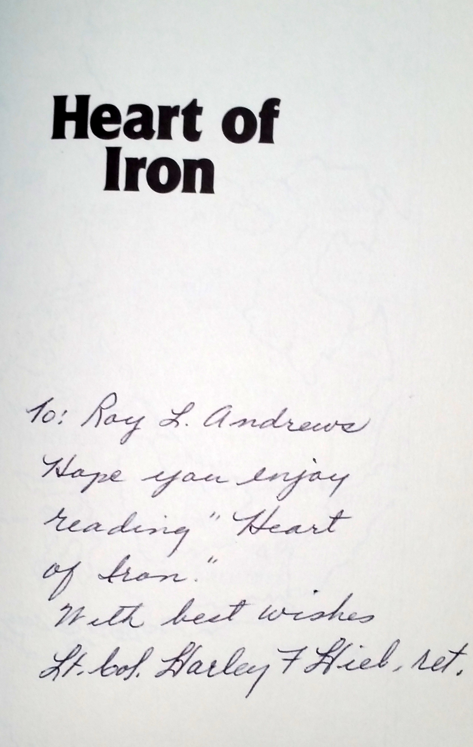 Image for Heart of Iron