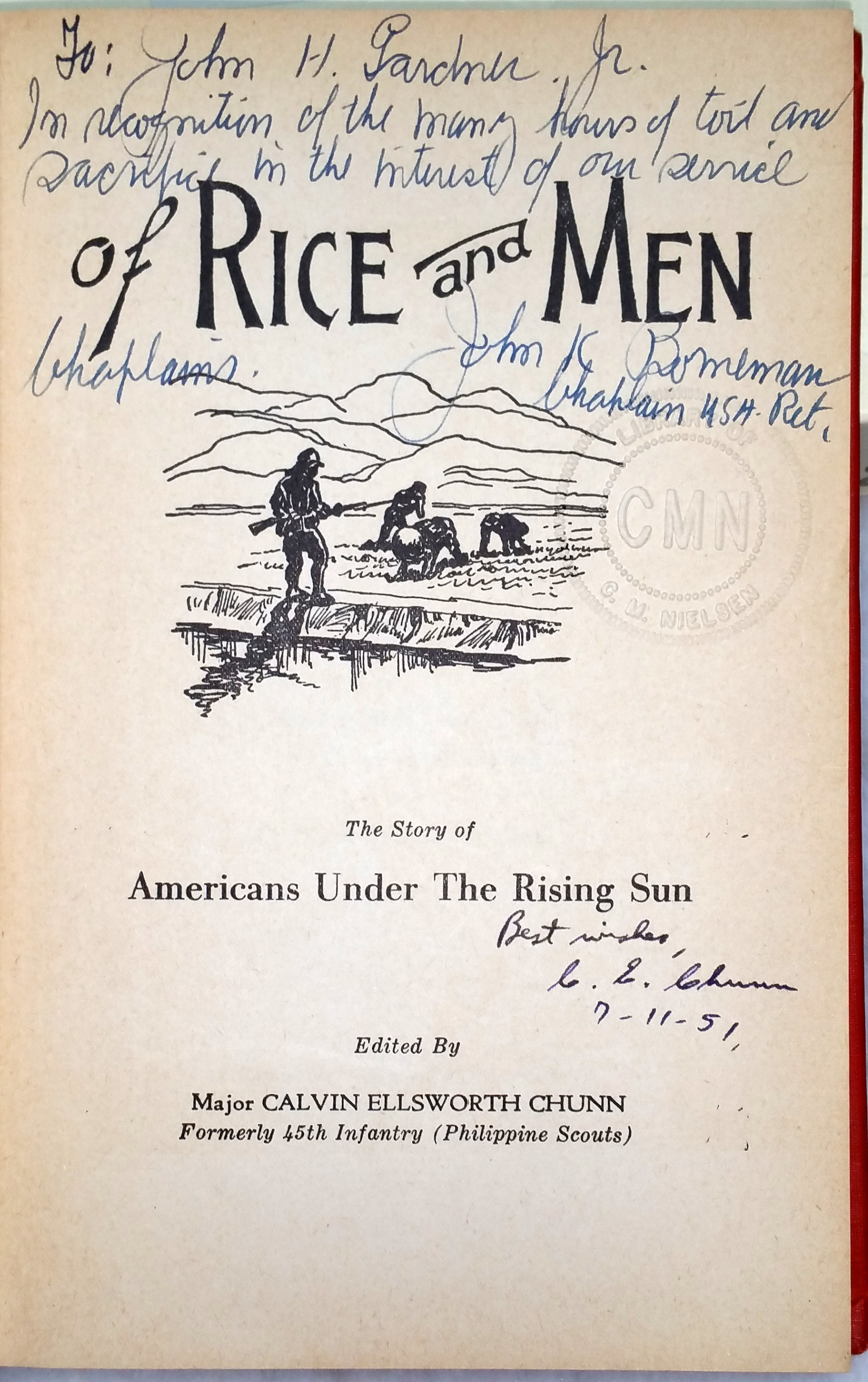 Image for Of Rice and Men:  The Story of Americans Under the Rising Sun