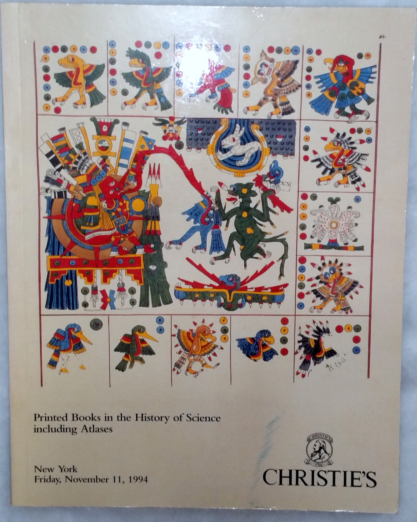 Image for Printed Books in the History of Science Including Atlases (Christie's, New York, Friday, November 11, 1994)