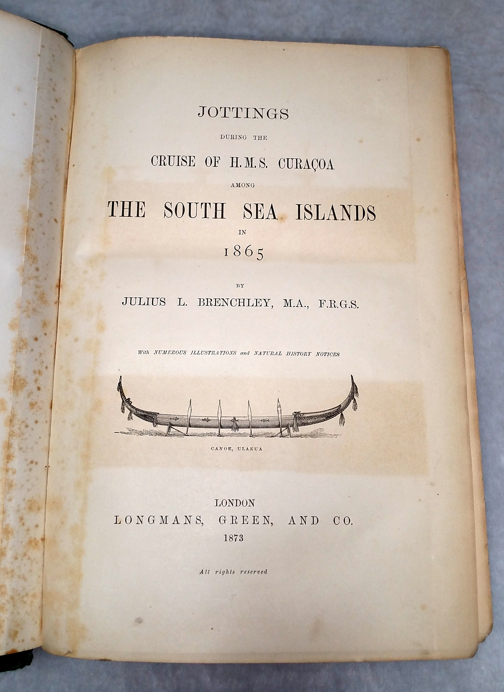 Image for Jottings During the Cruise of H.M.S Curacoa Among the South Sea Islands in 1865