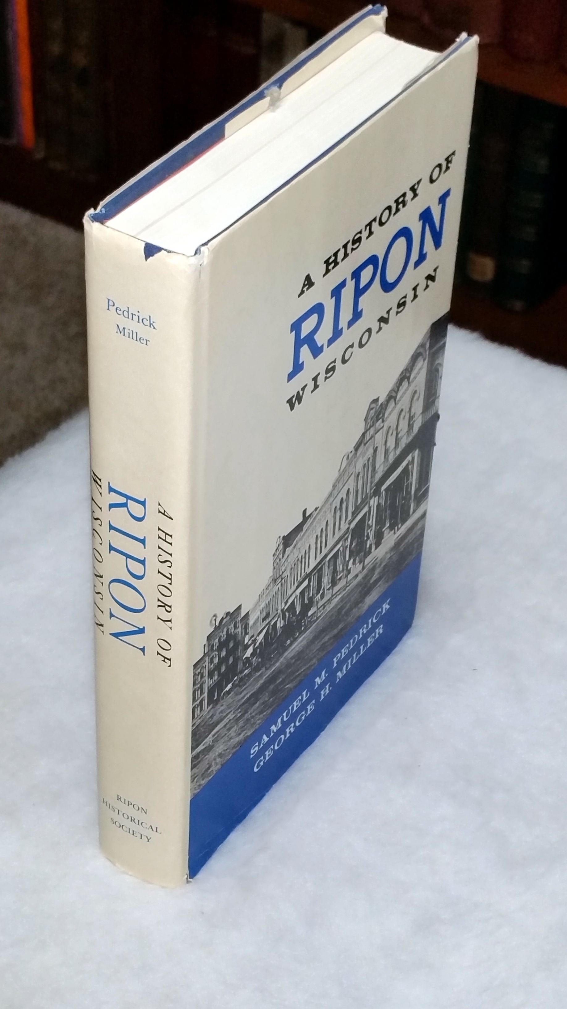 Image for A History of Ripon Wisconsin
