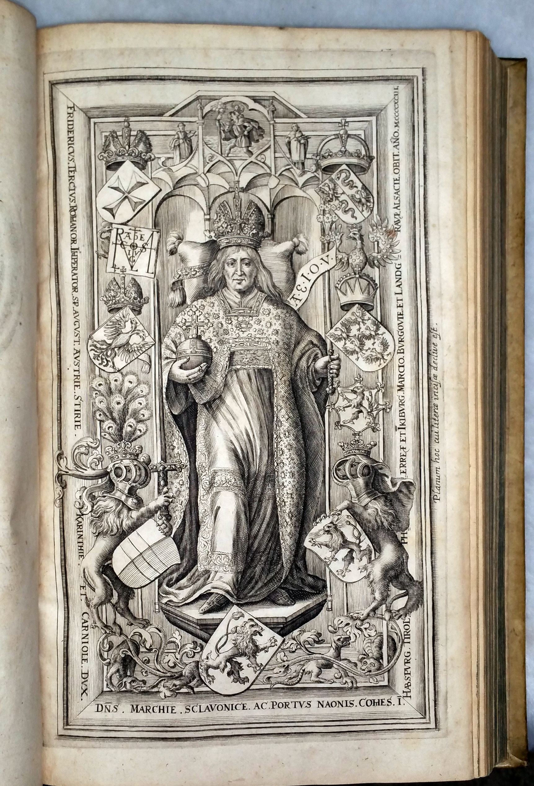 Image for Aeneae Silvii Episcopi Senensis Postea Pii Papae II.  Historia Rerum Friderici Tertii Imperatoris Ex Mxcto Optimae Notae...[with] Annales De Gestis Caroli Magni Poetae Anonymi [with] Andreae Presbyteri Ratisbonensis Chronicon