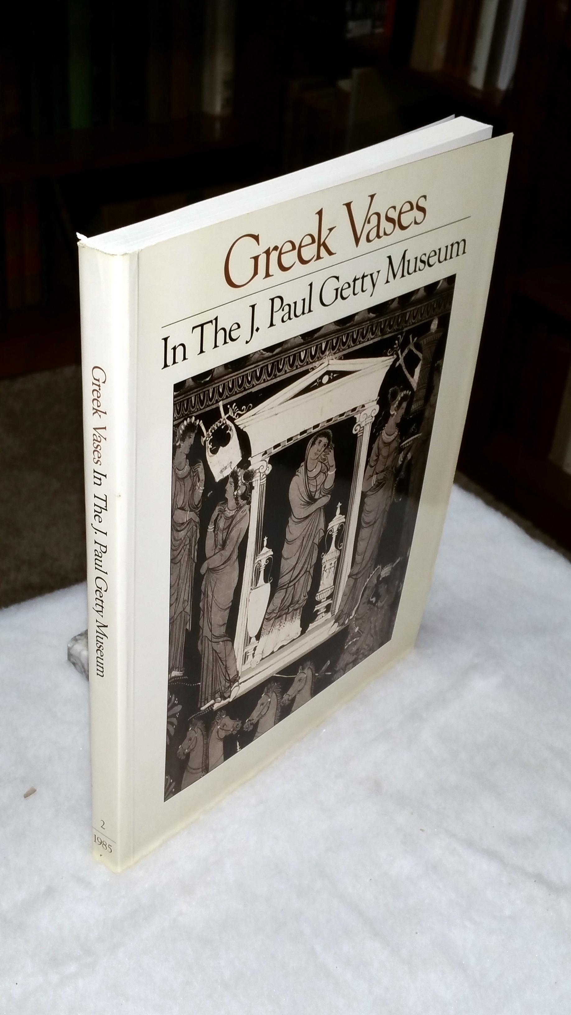 Image for Greek Vases in the J. Paul Getty Museum:  Occasional Papers on Antiquities, 3