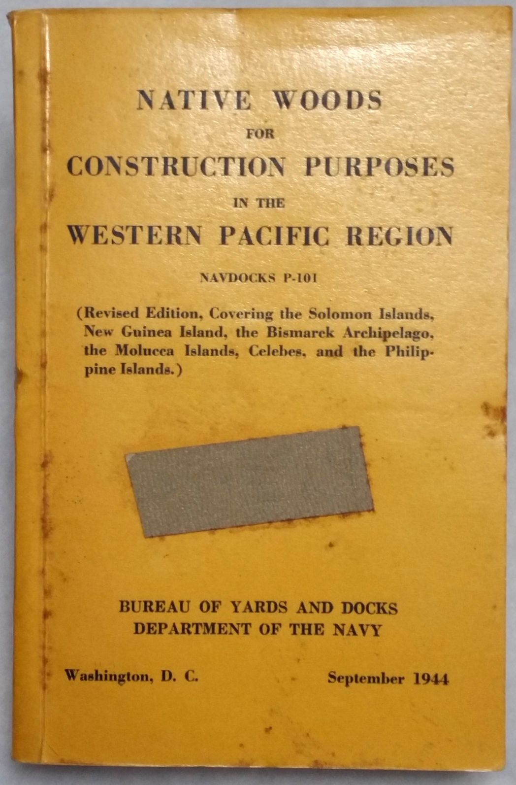 Image for Native Woods for Construction Purposes in the Western Pacific Region