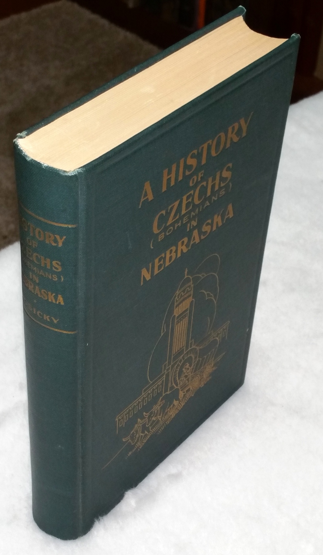 Image for A History of Czechs (Bohemians) in Nebraska