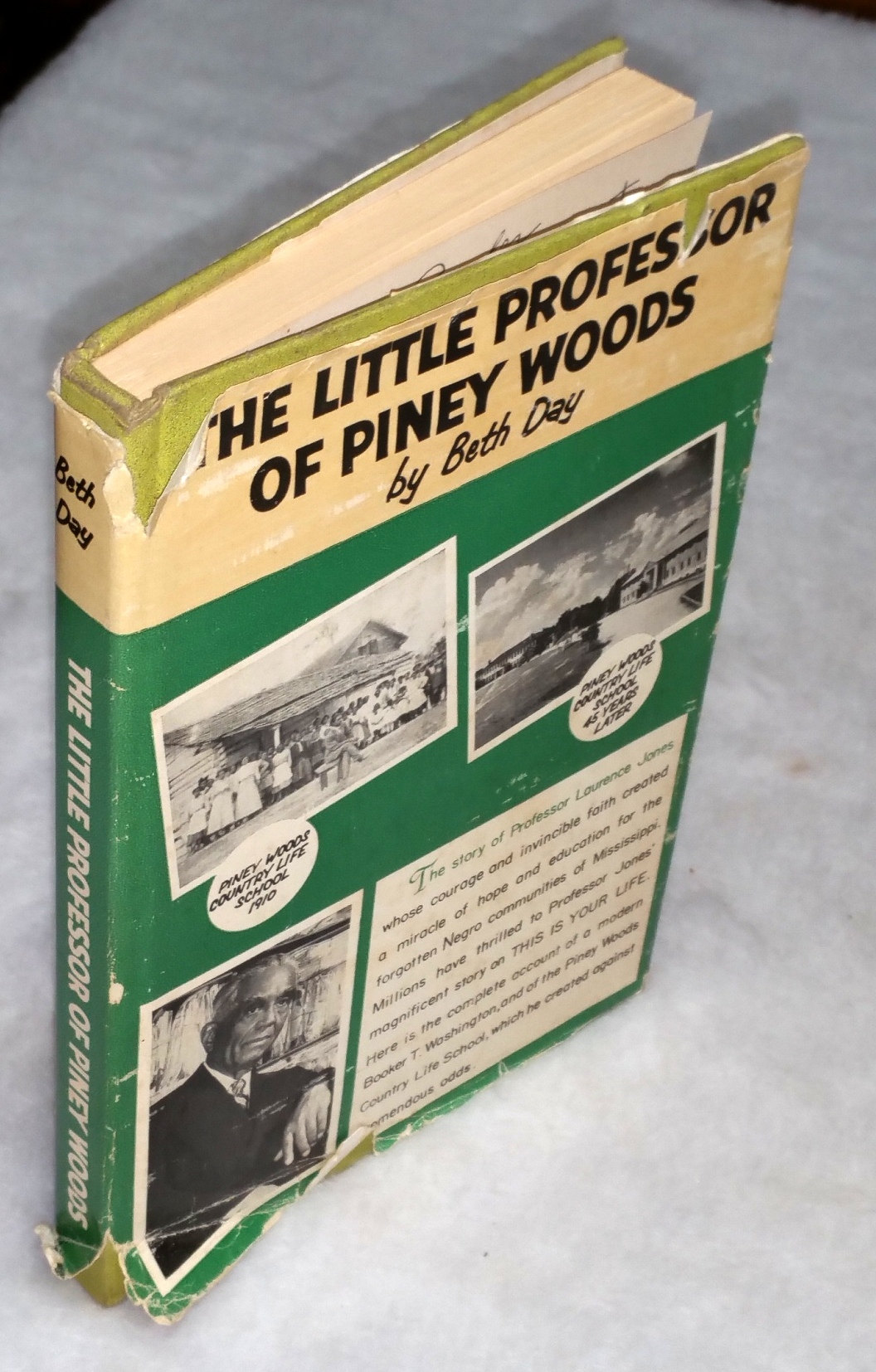Image for The Little professor of Piney Woods:  The Story of Professor Laurence Jones