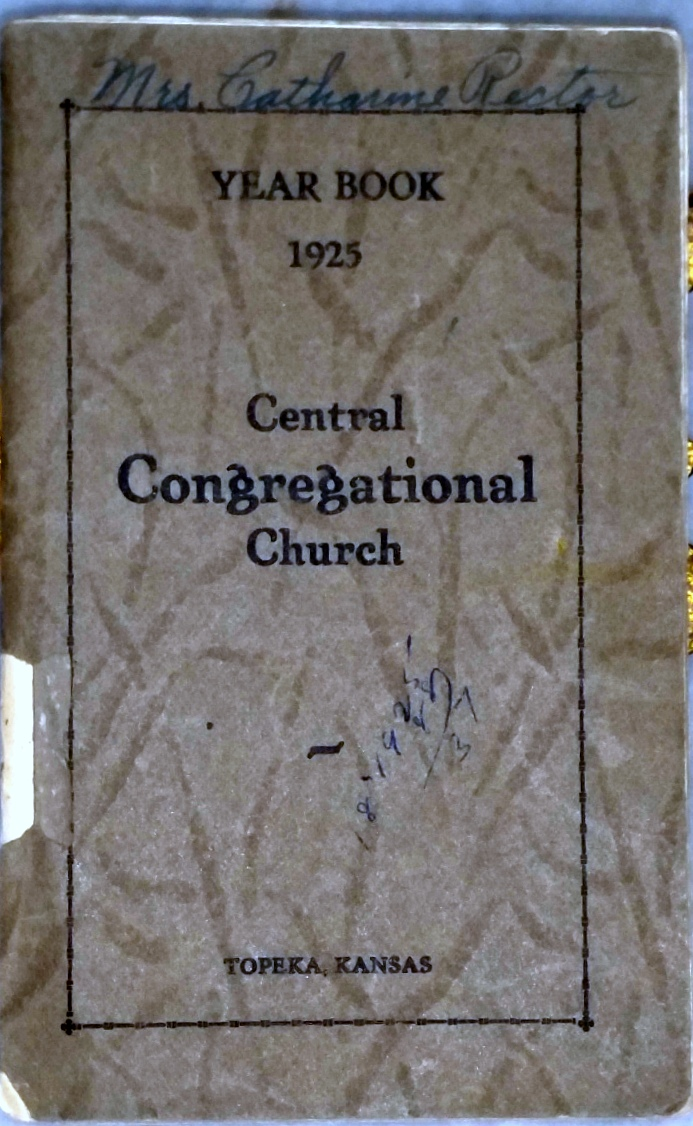 Image for Year Book, Central Congregational Church