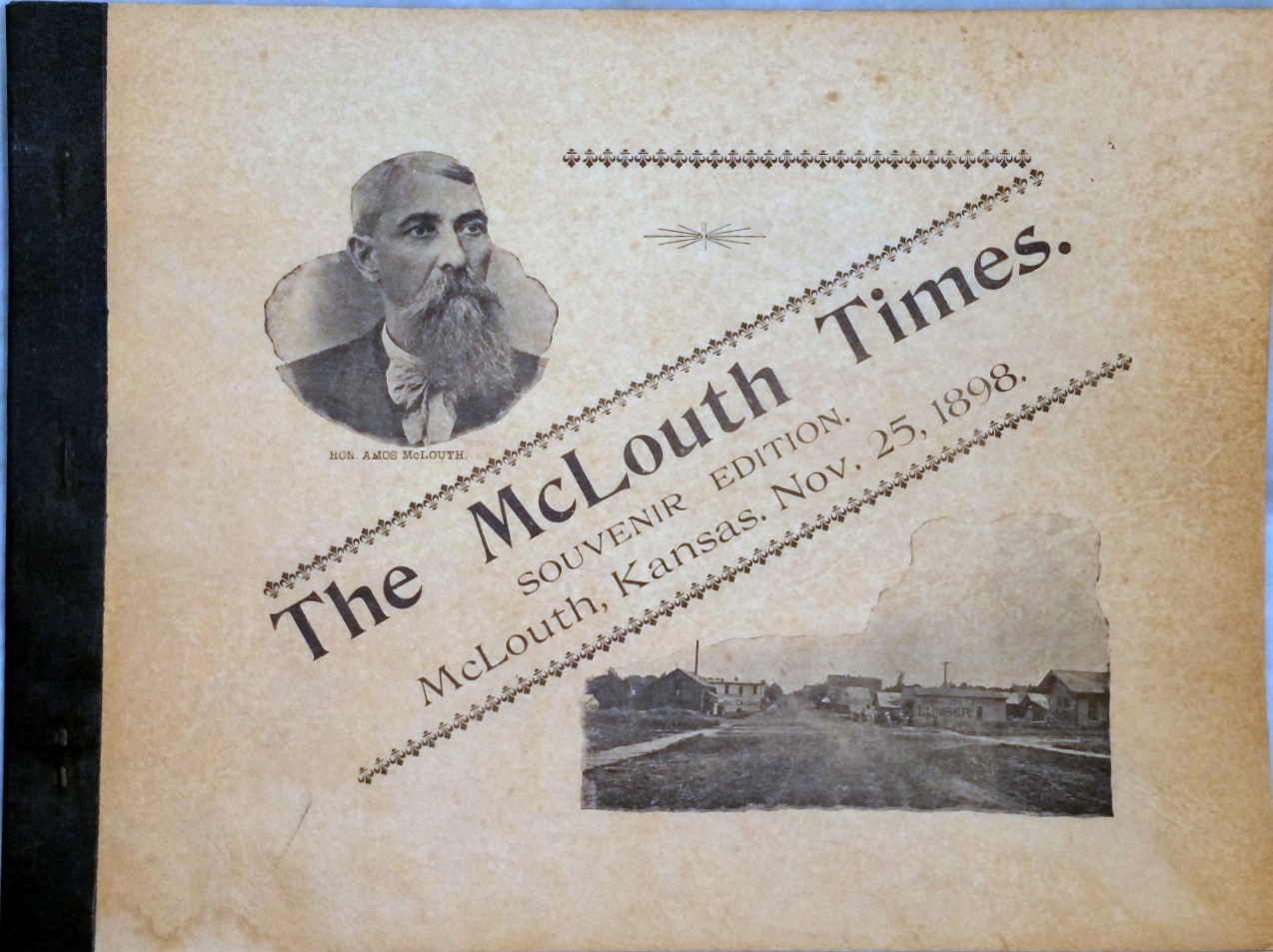 Image for The McLouth Times.  Souvenir Edition.