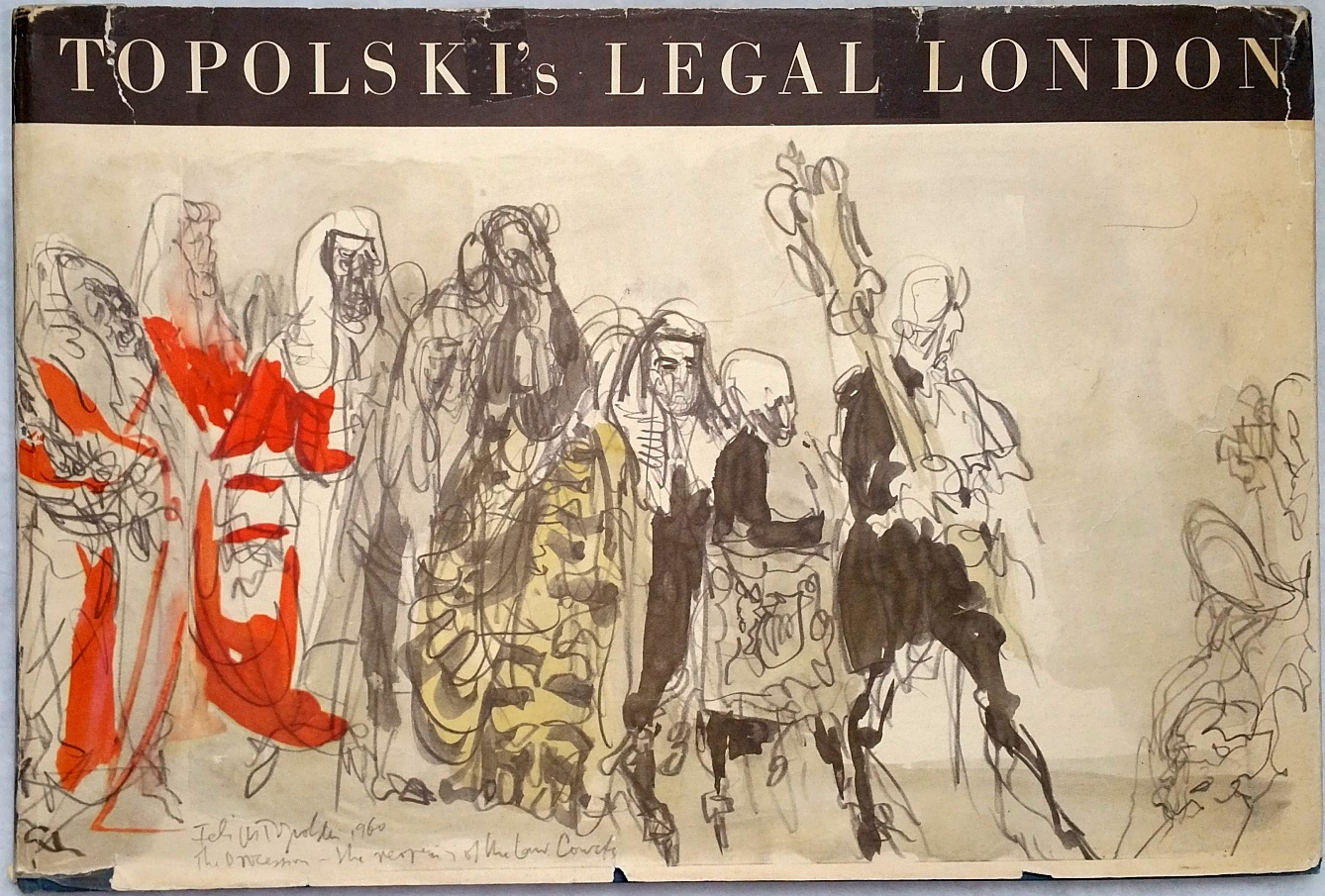 Image for Topolski's Legal London