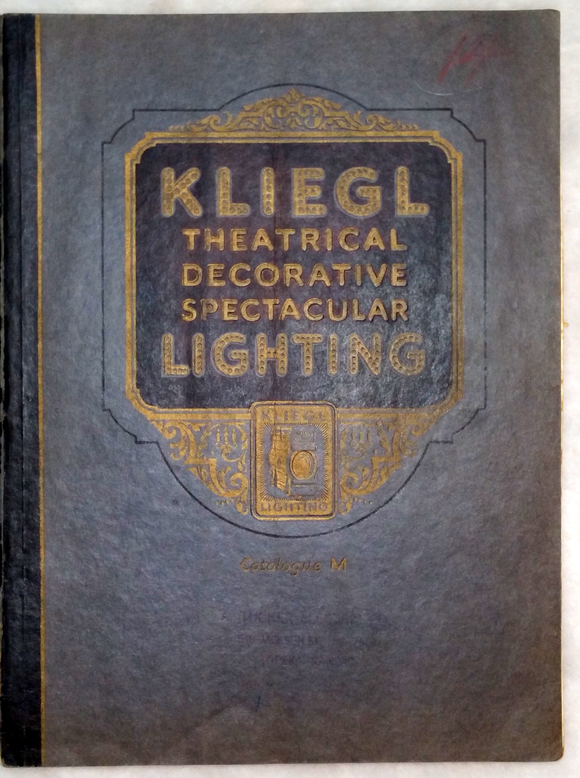Image for Kliegl Theatrical, Decorative, Spectacular Lighting:  Catalogue M