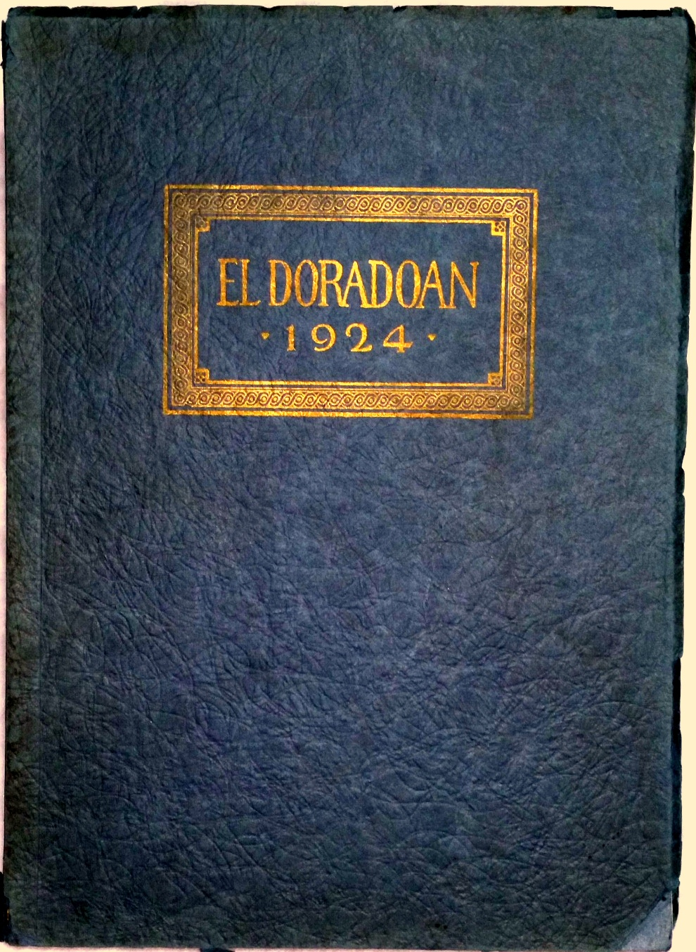 Image for The El Doradoan, Volume XII 1924