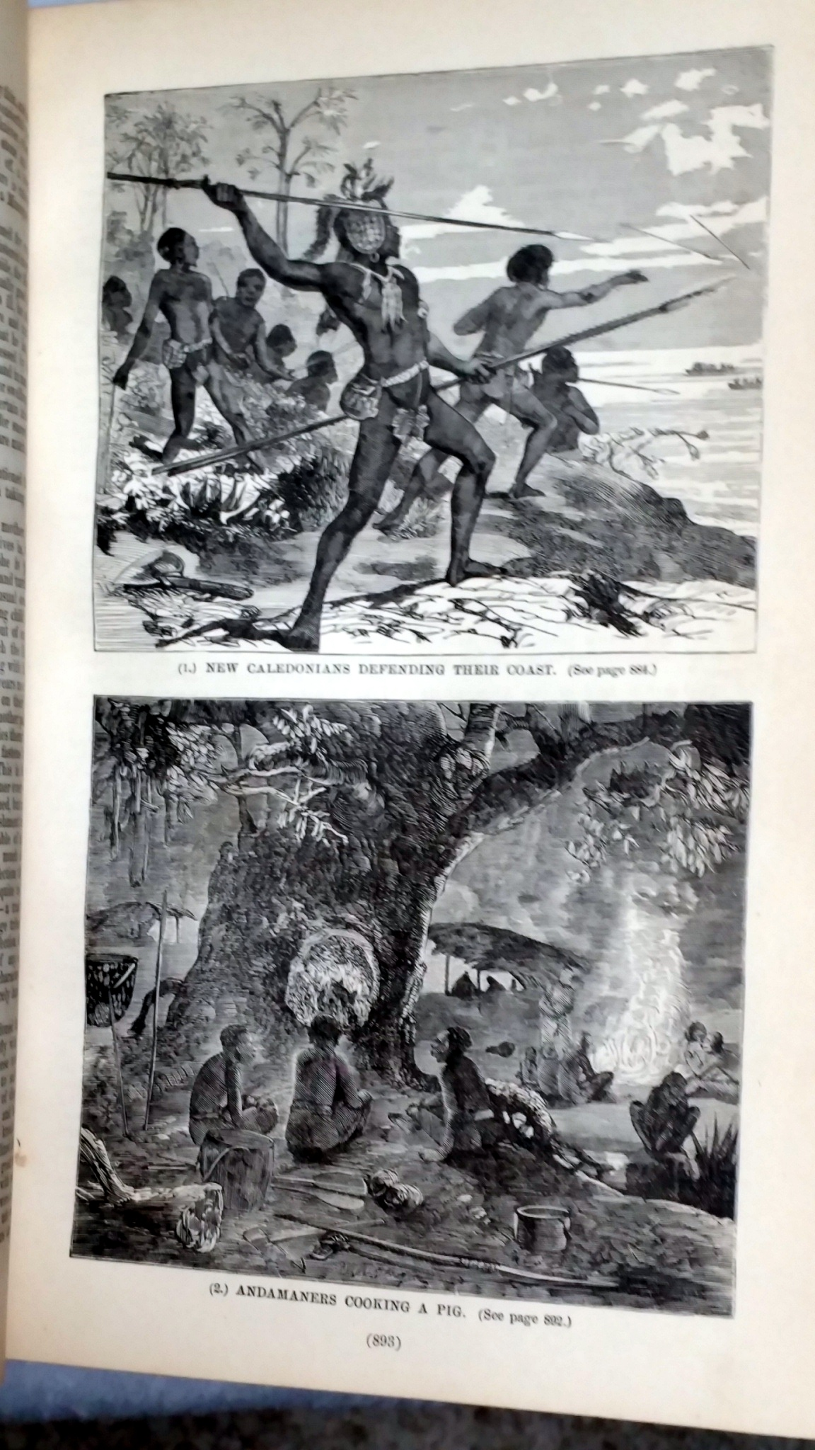 Image for The Uncivilized Races of Men in All Countries of the World; Being a Comprehensive Account of Their Manners and Customs, and of Their Physical, Social, Mental, Moral and Religious Characteristics (Two Volumes)