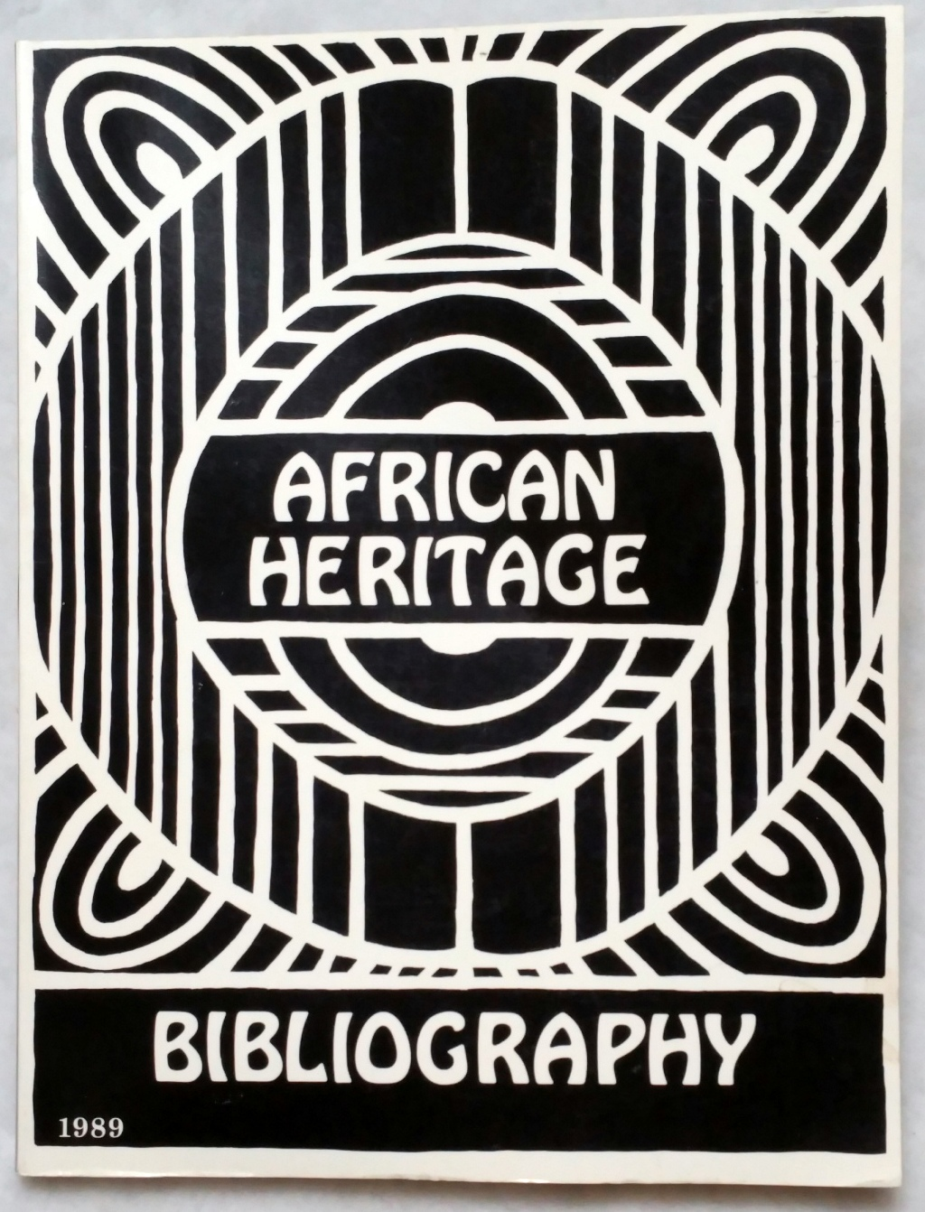 Image for African Heritage Bibliography