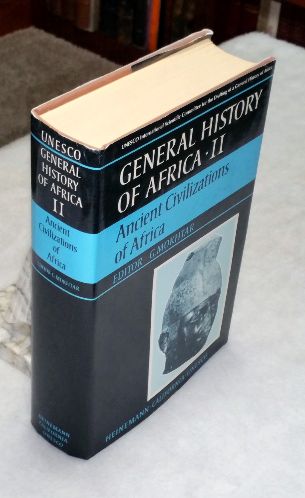 Image for General History of Africa, II: Ancient Civilizations of Africa (Volume II ONLY of the Eight Volume set)