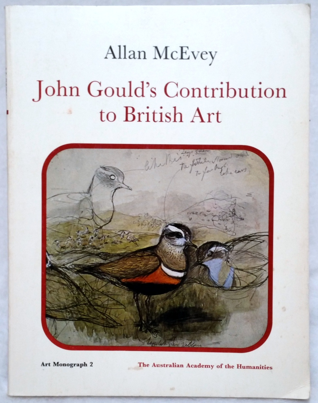 Image for John Gould's Contribution to British Art:  A Note on Its Authenticity
