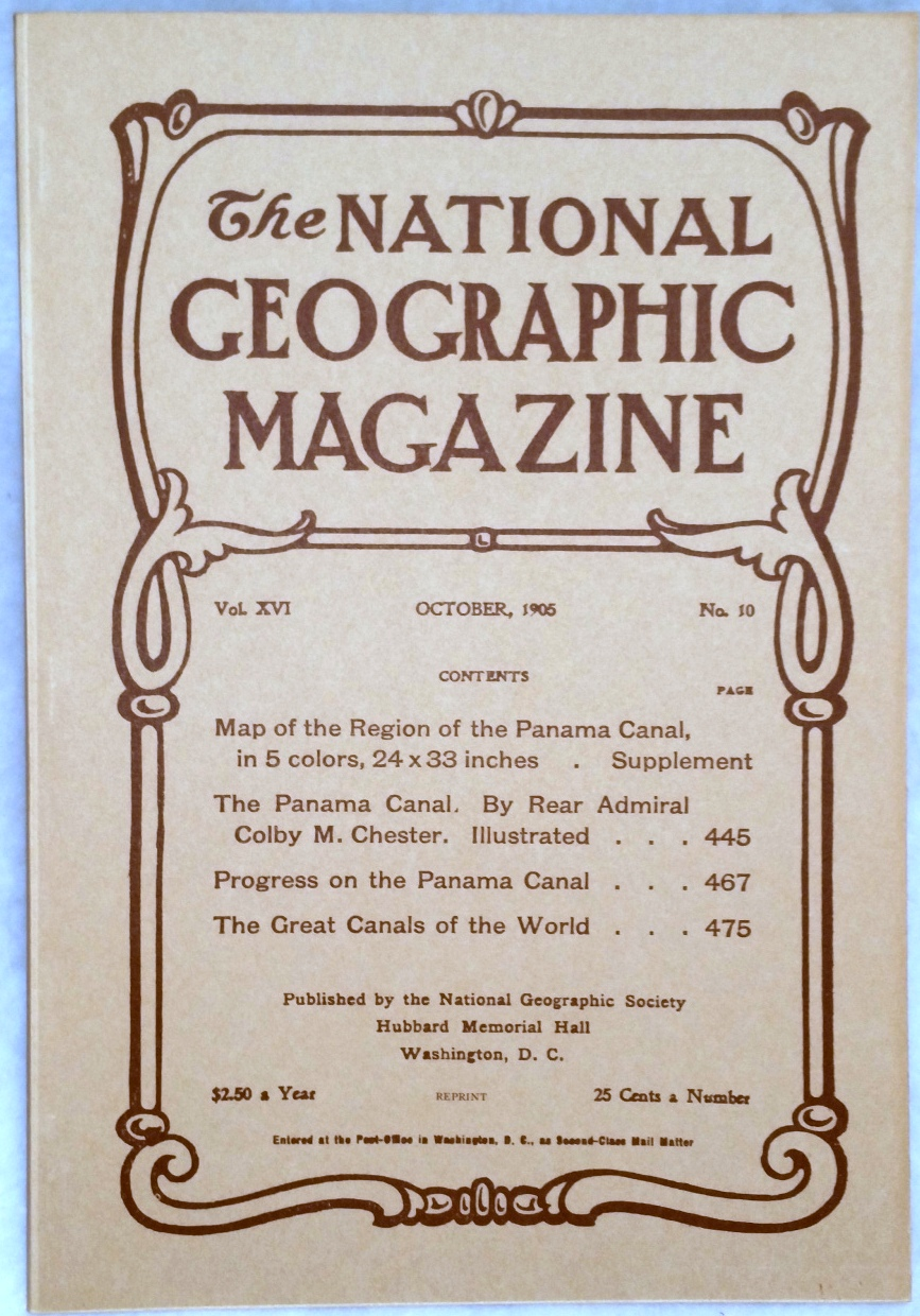 Image for The National Geographic Magazine, Vol.  XVI. No. 10, October, 1905 [Facsimile Reprint]